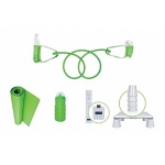 CTA Master Exercise Kit for Wii Fit/ Xertube Resistance Band/ Calorie cou