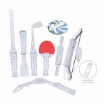 CTA 8 in 1 Sports Pack for Wii Sports Resort - White/ Wii MotionPlus comp