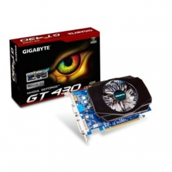 Gigabyte GV-N430-1GI / GF GT 430 / PCI-E 2.0 / 1GB DDR3 / 128-bit / Core