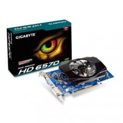 Gigabyte GV-R657OC-1GI / Radeon HD 6570 / PCI-E 2.1 / 1GB DDR3 / 128 bit
