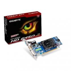Gigabyte GV-R645OC-1GI / Radeon HD 6450 / PCI-E 2.1 / 1GB DDR3 / 64 bit /