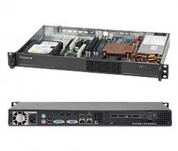 Supermicro SERVER CHASSIS 1U 200W BLACK/MINI CSE-510-200B