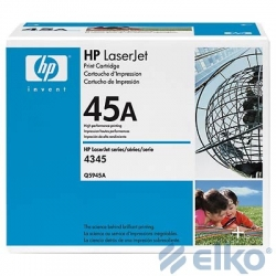 HP HEWLETT PACKARD TONER BLACK /LJ4345MFP 18K/Q5945A HP